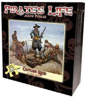 Channel-Craft Pirates Life- Captain Kidd Puzzle (550pc)