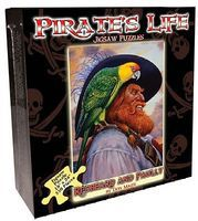 Channel-Craft Pirates Life- Redbeard & Parrot Puzzle (550pc)