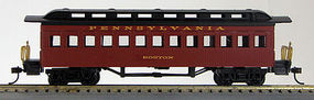 Con-Cor Coach Pennsylvania RR #112 red HO Scale Model Train Passenger Car #1000233