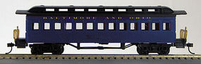 Con-Cor Coach Baltimore & Ohio #162 blue HO Scale Model Train Passenger Car #1000234