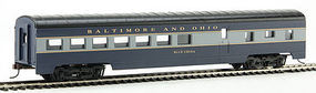 Con-Cor 72 Streamline Diner Baltimore & Ohio HO Scale Model Train Passenger Car #10003