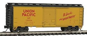 Con-Cor 40 Steel Box Car Union Pacific N Scale Model Train Freight Car #100105