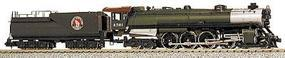 Con-Cor Steam S-2 4-8-4 Northern with Tender Great Northern Cab #1 N Scale Model Train #1003801