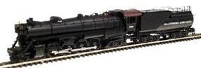 Con-Cor Steam S-2 4-8-4 Northern with Tender Baltimore & Ohio Cab #1 N Scale Model Train #1003807