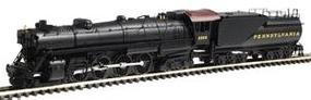 Con-Cor Steam S-2 4-8-4 Northern with Tender Pennsylvania Cab #3 N Scale Model Train #1003817
