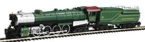 Con-Cor Steam S-2 4-8-4 Northern with Tender Southern Cab #2 N Scale Model Train #1003823