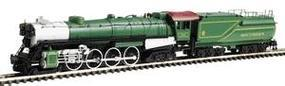 Con-Cor Steam S-2 4-8-4 Northern with Tender Southern Cab #3 N Scale Model Train #1003824