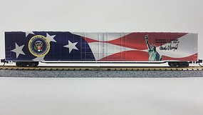Con-Cor 85Ft Inaugural Box Trump - N-Scale