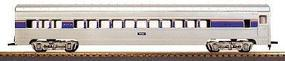 Con-Cor 72 Streamlined Assembled Coach Amtrak Phase IV HO Scale Model Train Passenger Car #10090023