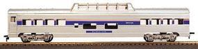 Con-Cor 72 Streamlined Car Regular Vista Dome HO Scale Model Train Passenger Car #10094023