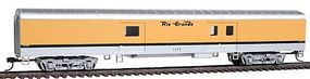 Con-Cor 72 Streamlined Baggage Rio Grande Ski Train HO Scale Model Passenger Car #10201