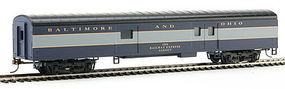 Con-Cor 72 Streamline Baggage Baltimore & Ohio HO Scale Model Train Passenger Car #10203