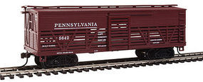 Con-Cor OT Cattle Car Pennsylvania RR #2 HO Scale Model Train Freight Car #1052092