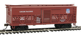 Con-Cor OT Cattle Car Union Pacific HO Scale Model Train Freight Car #1052095