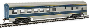Con-Cor 72 Streamline Diner Missouri Pacific HO Scale Model Train Passenger Car #1100018