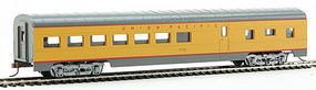 72' Streamlined Diner Union Pacific HO Scale Model Train Passenger Car #11001