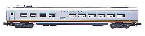 Con-Cor 72' Streamlined Diner Santa Fe ''Valley Flyer'' HO Scale Model Train Passenger Car #11010