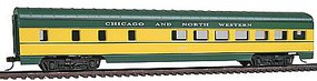 Con-Cor 72 Streamlined Diner Chicago North Western HO Scale Model Train Passenger Car #11016