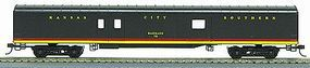 Con-Cor 72 Streamlined Baggage Kansas City Southern HO Scale Model Train Passenger Car #110205