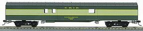 Con-Cor 72 Streamlined Baggage Car Erie HO Scale Model Train Passenger Car #110208