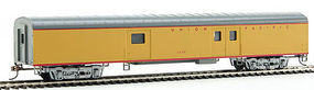 Con-Cor 72 Streamlined Baggage Union Pacific HO Scale Model Train Passenger Car #11021
