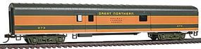 Con-Cor 72 Streamlined Baggage Great Northern Empire Builder HO Scale Model Passenger Car #11023