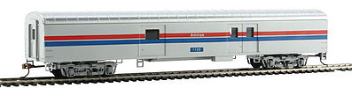 Con-Cor 72' Streamlined Baggage Amtrak (Phase II) -- HO Scale Model Train Passenger Car -- #11026