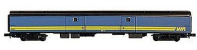 Con-Cor 72 Streamlined Baggage VIA Rail HO Scale Model Train Passenger Car #11032