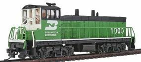 Con-Cor EMD MP15 with DCC Burlington Northern #1000 Model Train Diesel Locomotive HO Scale #1165101