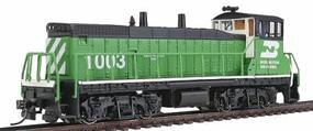 Con-Cor EMD MP15 with DCC Burlington Northern #1003 Model Train Diesel Locomotive HO Scale #1165102