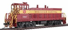 Con-Cor EMD MP15 with DCC Wisconsin Central #1559 Model Train Diesel Locomotive HO Scale #1165801