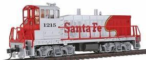 Con-Cor EMD MP15 with DCC Santa Fe #1215 Model Train Diesel Locomotive HO Scale #1166002