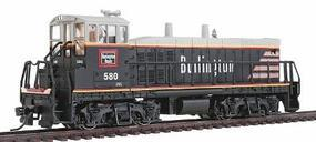 Con-Cor EMD MP15 DCC Chicago, Burlington & Quincy Model Train Diesel Locomotive HO Scale #1166101