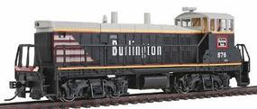 Con-Cor EMD MP15 DCC Chicago, Burlington & Quincy Model Train Diesel Locomotive HO Scale #1166102