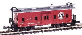 Con-Cor Bay Window Caboose Great Northern N Scale Model Train Freight Car #125309