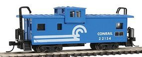 Con-Cor Caboose EXT VSN Conrail N Scale Model Train Freight Car #126104
