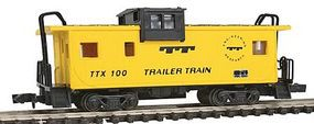 Con-Cor Caboose extended vision Trailer Train N Scale Model Train Freight Car #126110