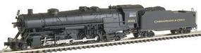 Con-Cor USRA Heavy 2-10-2 Standard DC Chesapeake & Ohio #2001 N Scale Model Train #13923