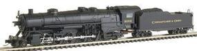 Con-Cor USRA Heavy 2-10-2 Standard DC Chesapeake & Ohio #2003 N Scale Model Train #13924