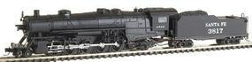 Con-Cor USRA Heavy 2-10-2 Standard DC Santa Fe #3817 N Scale Model Train #13927