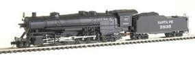 Con-Cor USRA Heavy 2-10-2 Standard DC Santa Fe #3835 N Scale Model Train #13928