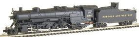 Con-Cor USRA Heavy 2-10-2 Standard DC Norfolk & Western #2355 N Scale Model Train #13930
