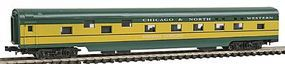 Con-Cor 85 Pullman Car Chicago & North Western N Scale Model Train Passenger Car #1401120