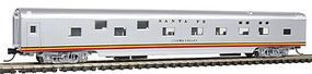 Con-Cor 85 Streamlined Smoothside Pullman Sleeper Santa Fe N Scale Model Train Passenger Car #140117