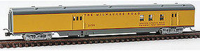 Con-Cor 85 SS Passenger RPO Milwaukee Road N Scale Model Train Passenger Car #1402125