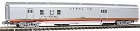 Con-Cor 85 Streamlined Railway Post Office/Baggage Car Santa Fe N Scale Model Passenger Car #140217
