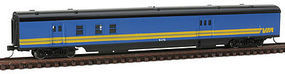 Con-Cor 85 Streamlined Post Office/Baggage Car Via Rail N Scale Model Train Passenger Car #140222