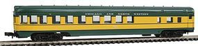 Con-Cor 85 Observation Car Chicago & North Western N Scale Model Train Passenger Car #1404120