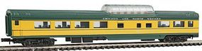 Con-Cor 85 Dome Car Chicago & North Western N Scale Model Train Passenger Car #1406120