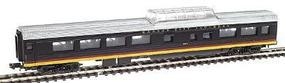 Con-Cor 85 Streamlined Smoothside Dome Kansas City Southern N Scale Model Train Passenger Car #140627